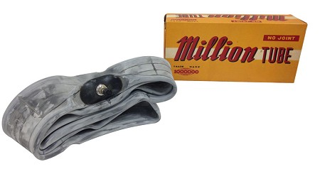 Million Inner Tube with Nickle Valve - 250 x 18