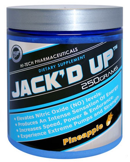 Hi-Tech Pharmaceuticals JACK'D UP 250g (45 Servings)