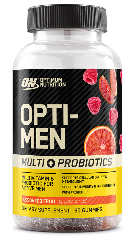 Optimum Nutrition Opti-Men Multi + Probiotic Gummy (30 Servings)
