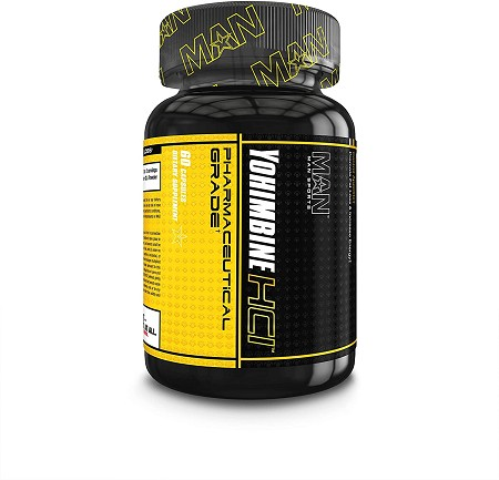 Man Sports Yohimbine - Metabolism Booster (60 Capsules)