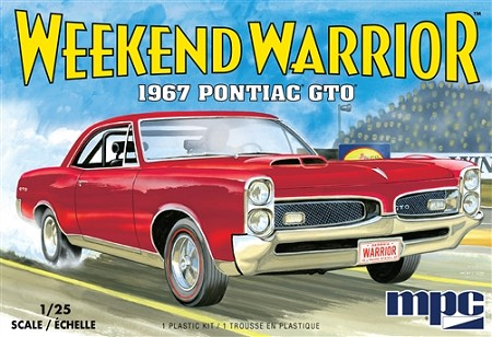 MPC 1967 Pontiac GTO 1:25 Scale Model Kit