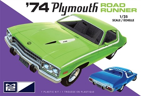 MPC 1974 Plymouth Road Runner 1:25 Scale Model Kit