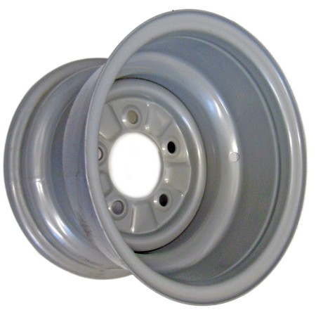 "10"" x 7"" Rim with Bead Locks (5 on 4-1/2) - Gray"