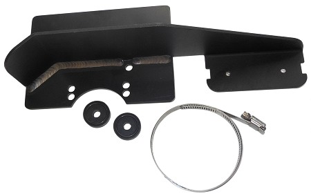 Aluminum Chain Guard with Heat Shield & Tank Support for Briggs Flathead / Raptor Engine