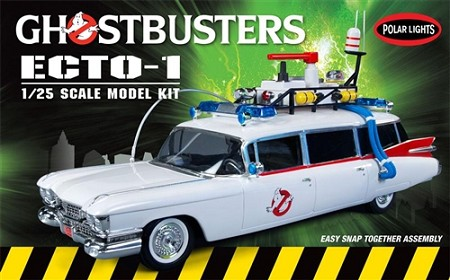 Polar Lights Ghostbusters Ecto-1 1:25 Scale SNAP Kit
