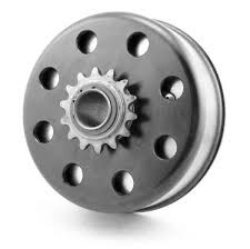 "Titan World Formula Clutch, #219 Chain 3/4"" Bore"