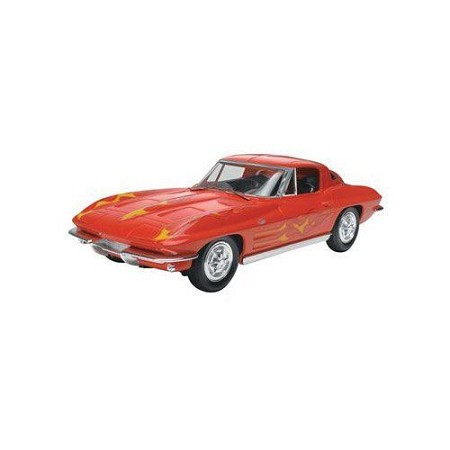 '63 Corvette Stingray Coupe (1/25 Scale) SnapTite Car from Revell Models #851968