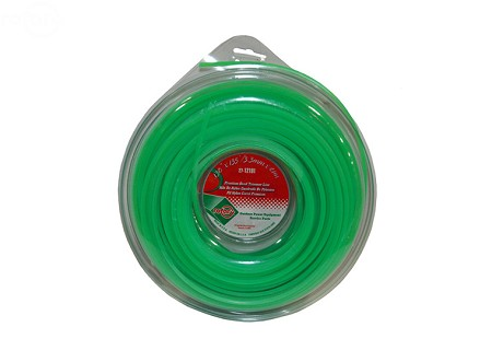 Line Trimmer .130 135' Lge Donut Quad Green