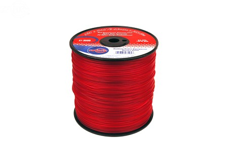 Trimmer Line .080 3Lb Spool Red Commerical