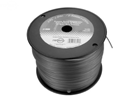 Trimmer Line .105 3Lb Spool Red Commercial