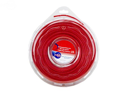 Line Trimmer .130 X 1 Lb. Donut Red Commercial