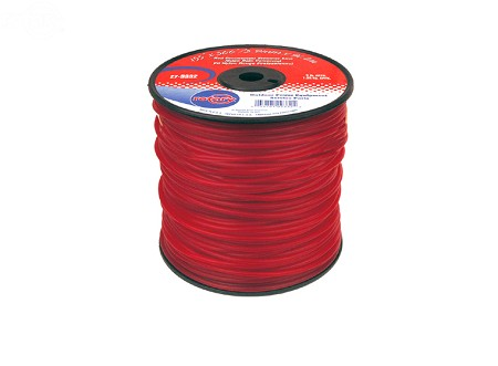 Trimmer Line .155 3 Lb Spool Red Commercial