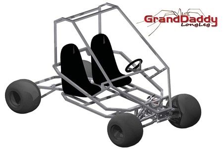 Kit for GrandDaddy Kart Plan from Spider Carts