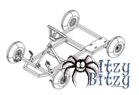 Kit for Itzy Bity Kart Plan from Spider Carts