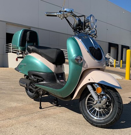 Trailmaster Sorrentor 150A - Retro Style Scooter