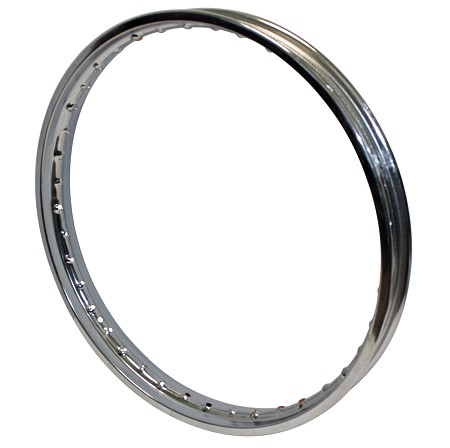 Takasago 18 x 1.40 40 Spoke Hole Chrome Rim