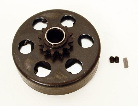 10T Sprocket & Drum (Only) - Max Torque SS Clutch (#41 Chain)