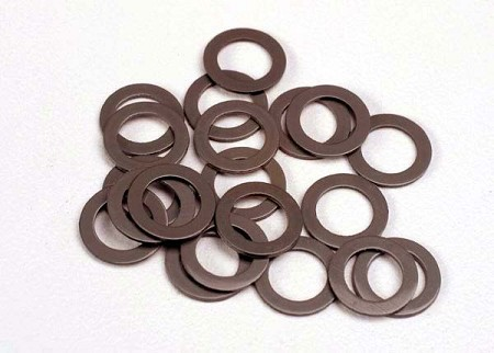 PTFE-Coated Washers (5x8x0.5mm) for Traxxas (20 Ct.) - Use with Ball Bearings