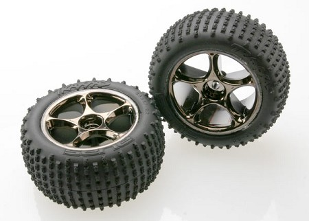 Traxxas 2.2 Tracer Tires & Wheels Assembled (2)