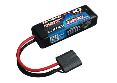 2200mAh 7.4v 2-Cell 25C LiPo Battery