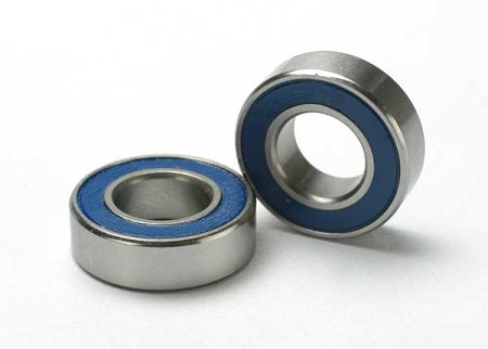 (2) Ball Bearings (8x16x5mm) w/ Blue Shields for Traxxas