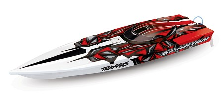 Traxxas Spartan Muscle Boat - Brushless - Battery/Charger NOT Included