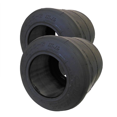 "Set of 2,  6"" Unilli Racing SL Slick Tire (12 x 9.00-6)"
