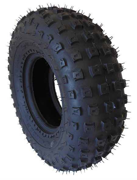 "Unilli Knobby Tire for 6"" Rim"