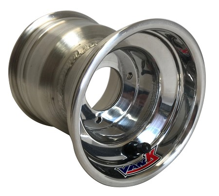 "5"" VanK Pro-Maxx Polished Kart Wheels"