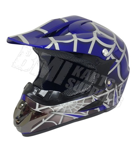 Off Road Youth Helmet (Spider/Blue)
