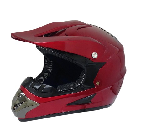 Off Road Youth Helmet (Red)