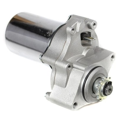 12T Starter Motor for 50cc-125cc, Top Mount, 3 Bolt