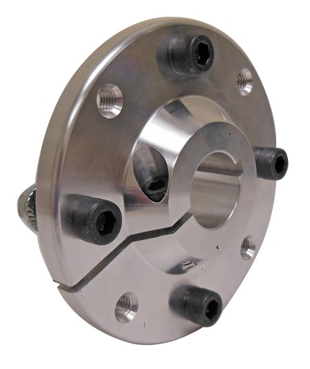 "Billet Aluminum Wheel Hub for Metric Rim (1"" or 1-1/4"" Bore)"
