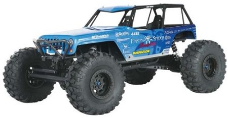 Axial 1/10 Wraith Jeep Wrangler Poison Spyder Rock Crawler RTR AX90031 - Brushed