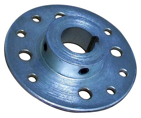 "Steel Multi-Patterned Sprocket / Brake Hub (1-1/4"" Bore)"