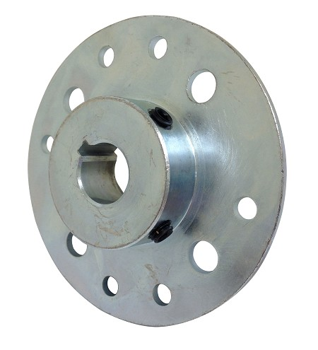 "Steel Multi-Patterned Sprocket / Brake Hub (3/4"" Bore)"