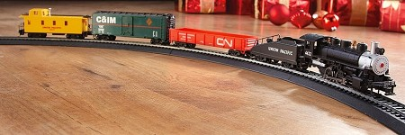 Pacific Flyer Train Set from Bachmann 00692 - HO Scale