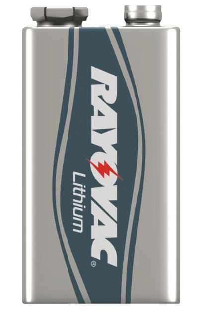 9V Rayovac Ultra Pro Lithium Battery