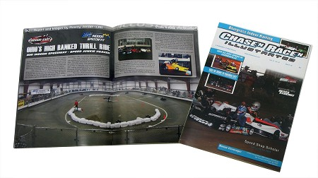Chase'n Race'n Illustrated (March 2013) - Featuring BMI Indoor Speedway
