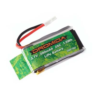 Dromida Kodo Quadcopter 1S 3.7V 390mAh LiPo Battery