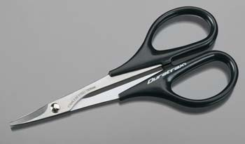 Duratrax Body Scissors with a Curved Tip