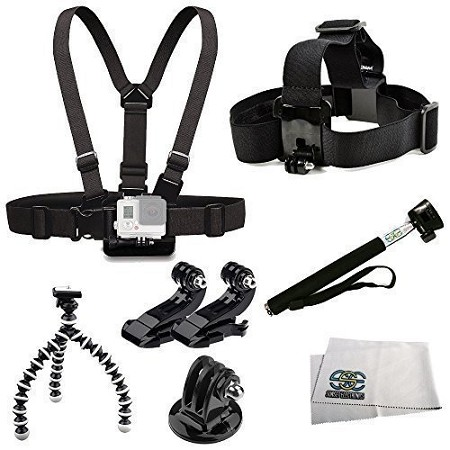 6-in-1 Accessories Kit for GoPro Hero