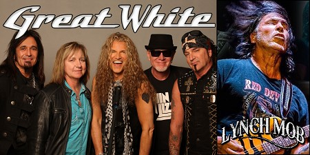 Great White with special guest Lynch Mob