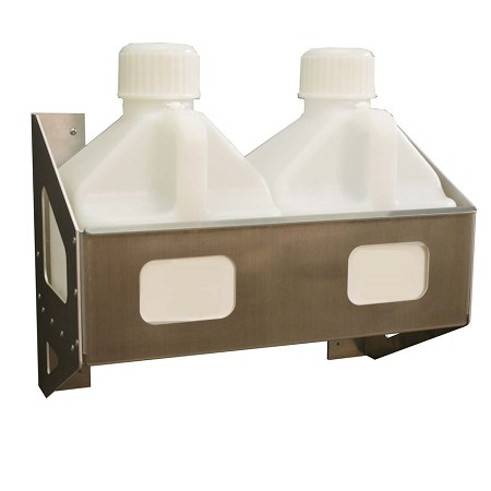 Fuel Jug Rack, Holds 2.5 Gallon Jugs (Aluminum)