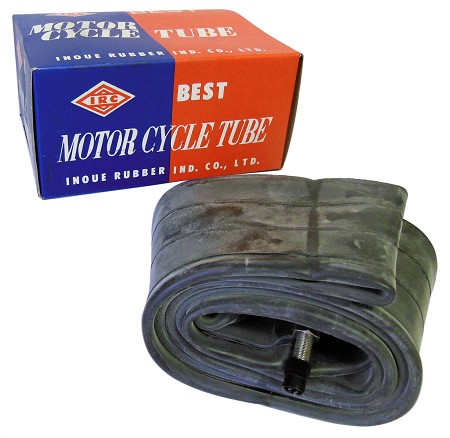 IRC Inner Tube with Nickle Valve - 450 x 18