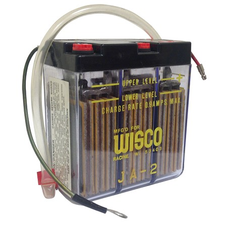 Wisco Moped/Mini-Bike Battery (6V/6A)