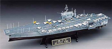 Academy 1/800 U.S.S. Kitty Hawk