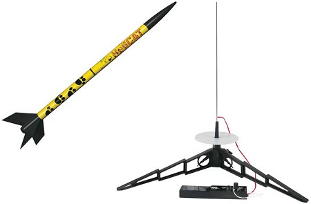 HeliCAT Launch Set by Estes Rockets E2X Easy-to-Assemble #1465