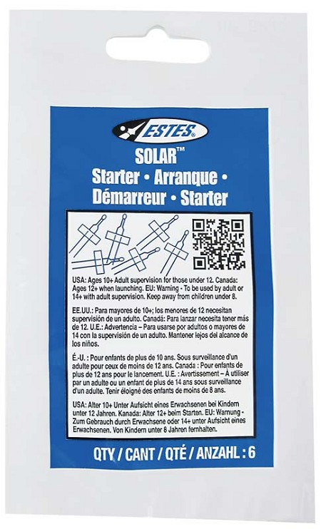 Solar Model Rocket Starters / Igniters by Estes Rockets #2302