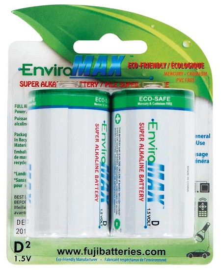 Fuji Batteries D Alkaline Battery (2)